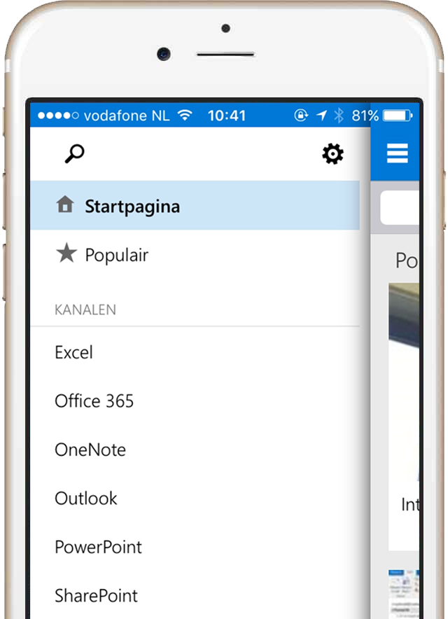 e-learning mobile Office 365